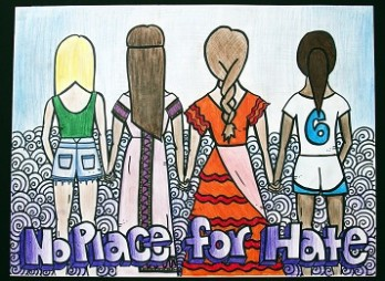 Image result for no place for hate poster contest