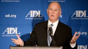 Governor Jerry Brown addressed ADL leaders from throughout the country.